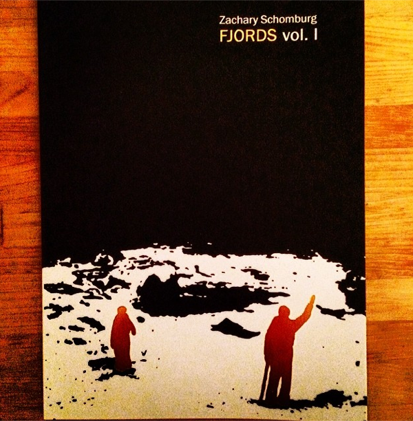 In the summer of 2009, after getting an email about running over a squirrel from Brandon Shimoda, and then after getting an email from Mathias Svalina about a mermaid, I decided to re-work their stories into little dream poems. This is how Fjords started. Since then, the first volume has won the Oregon Book Award and is now in its second printing. It has a gold foil stamp on the cover instead of silver, but all the poems are still the same, including that squirrel one, and that mermaid one (which became the Black Angel of Death).