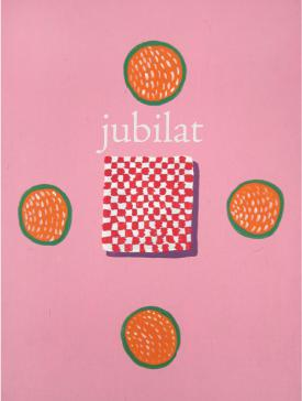 """There is a new issue of  jubilat , and for its website, I filmed myself reading """"The Book,"""" a translation I translated with Alisa Heinzmanof  Jacques Rebotier 's """"Le Livre,"""" and I read it in the same way that Jacques Rebotier read """"Le Livre,"""" and all of this was brought to you by  the new issue of jubilat . Alisa and I translated an entire book of Rebotier's poems. And in the background that is Joseph Mainsasleep on the couch in our living room."""