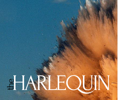 If you're into this sort of thing, I should tell you that  four excerpts from a long poem I've been working on called  Agnes, the Elephant  are up and ready for you to read them in the second issue  of  The Harlequin.  Take a break and read some poems.