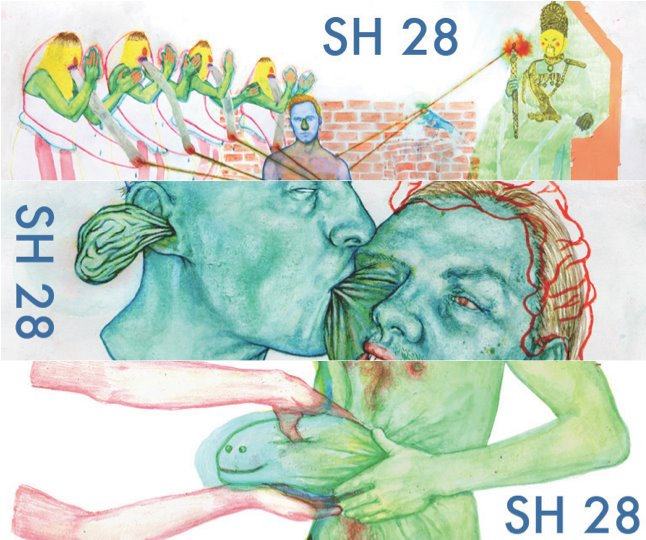 I have two poems in the new issue #28 of  Salt Hill Journal .  Check it .