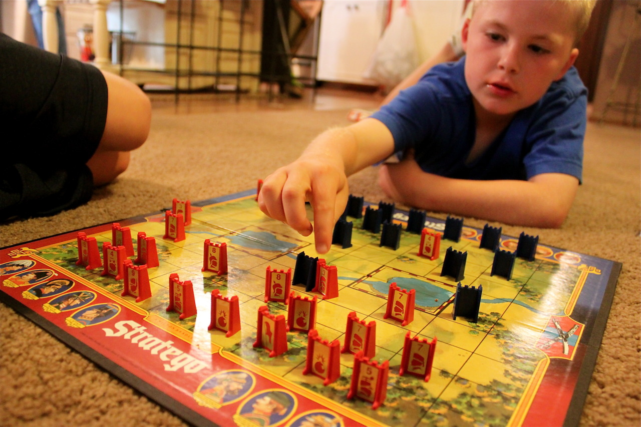 Stratego with Max.