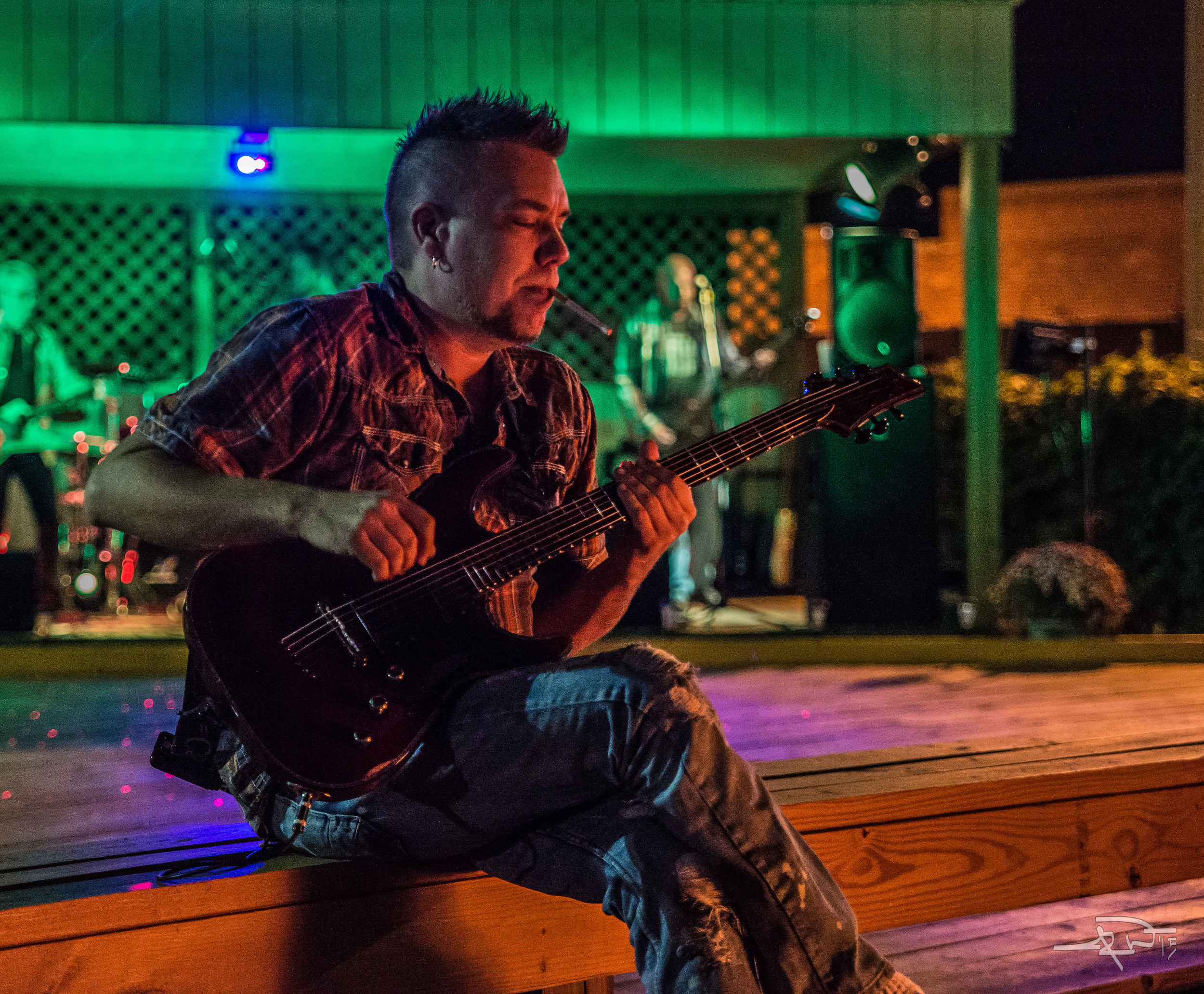 Beau Green, Guitarist, Sitting by the fire