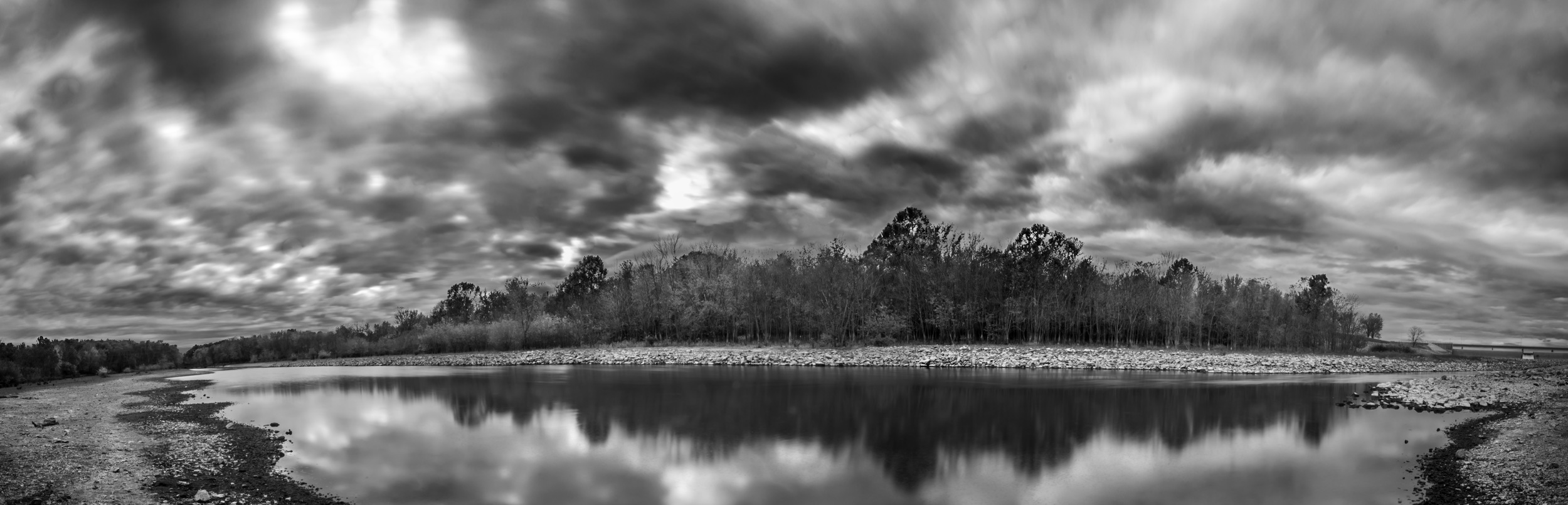 """4 Stitched Images,  Nikon D610 ,  T  okina 11-16 F2.8 @ 11m  m, IS0 50, F22, 13""""  exposure ND8x2"""