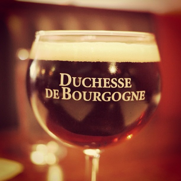 """The tart and tasty """"Duchesse"""" #craftbeer  (Taken with  Instagram  at the Refuge)"""