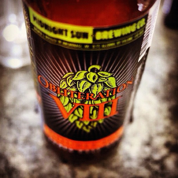 'Obliteration VIII' by @MidSunBrewing. A delicious assault on the palate.