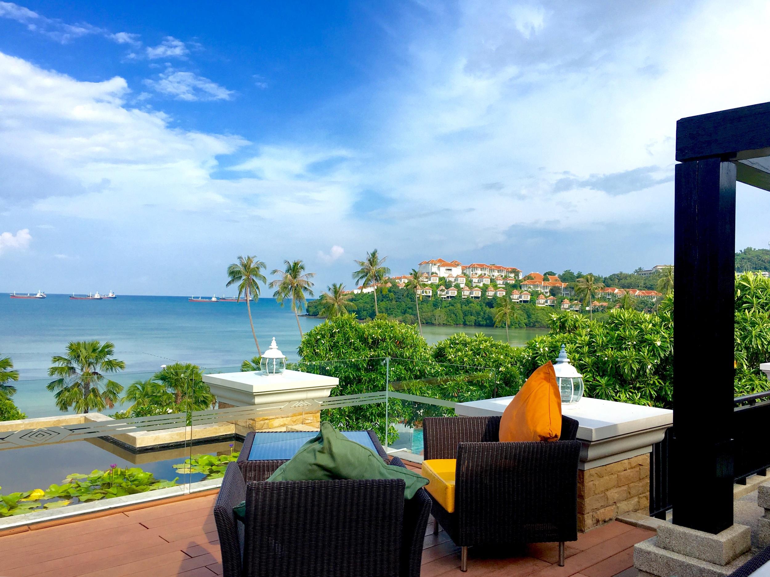 Our home at the beach side Radisson Blu Panwa Resort