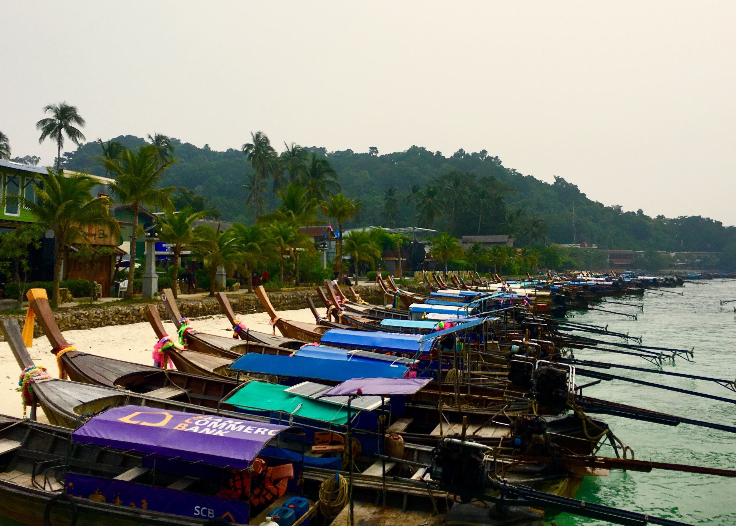 The main pier and welcoming point to Ko Phi Phi island.