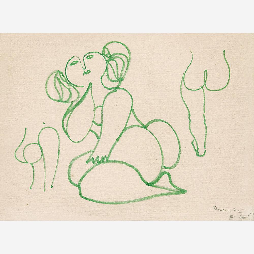 aubreylstallard :     Milton DaCosta, Figura Sem-titulo, 1964