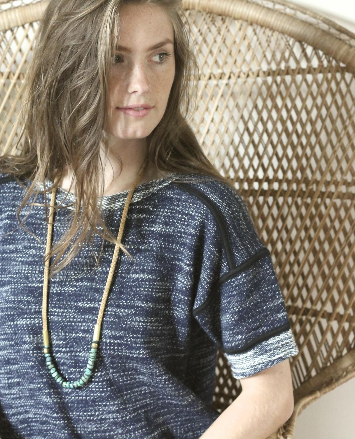 Turquoise Arra Necklace