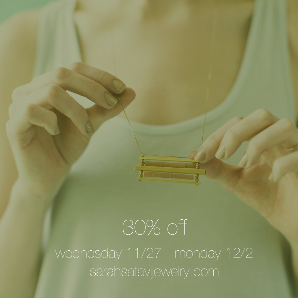 Last day for 30% off.