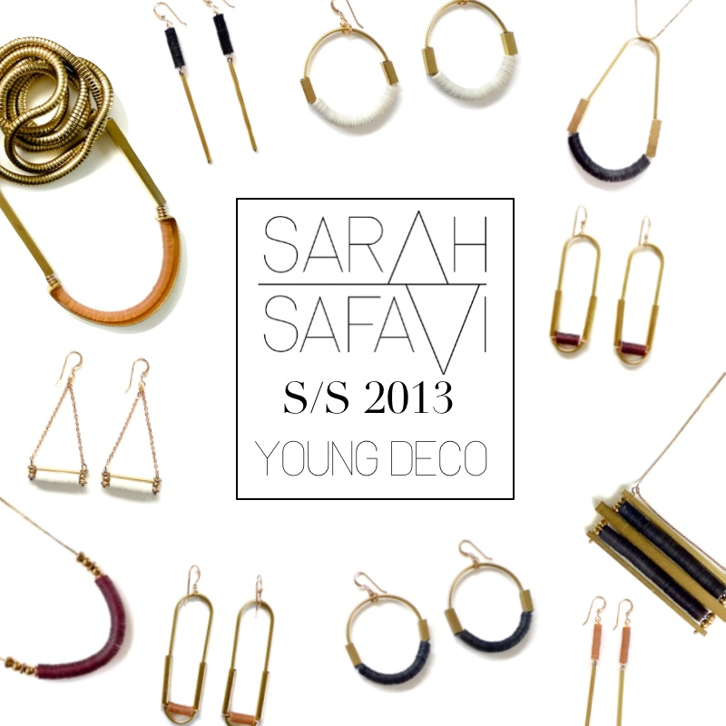 New collection finally out. Sarahsafavijewelry.etsy.com