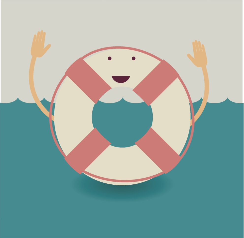 A happy life preserver because asking for help shouldn't be scary.  Also, truth be told, other stock images related to 'help' were a bit lame, not cute like this guy...and as well I thought this picture was funny because he has a shadow underneath him. Why? He is meant to be in the ocean...the shadow implies a light source above his head and that there is a floor underneath him, as if this is a photograph taken on a flat back ground rather than in water...even though its a cartoon. I'm not sure what is going on there. Anyway, if we can help you in at all, or if your are keen to know if we are the right people to help you, please get in contact.