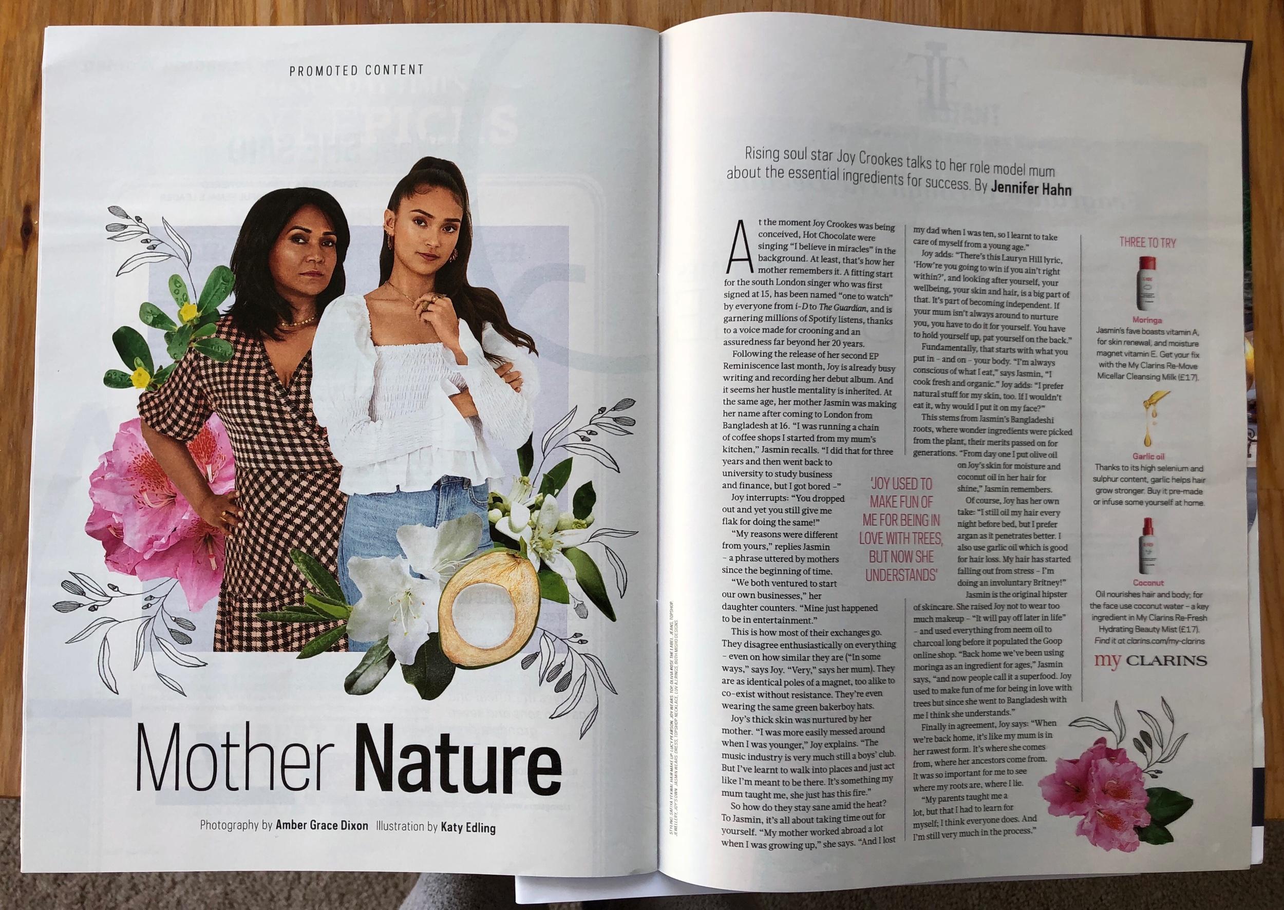Sunday Times Style x Clarins | Jasmine & Joy Crookes