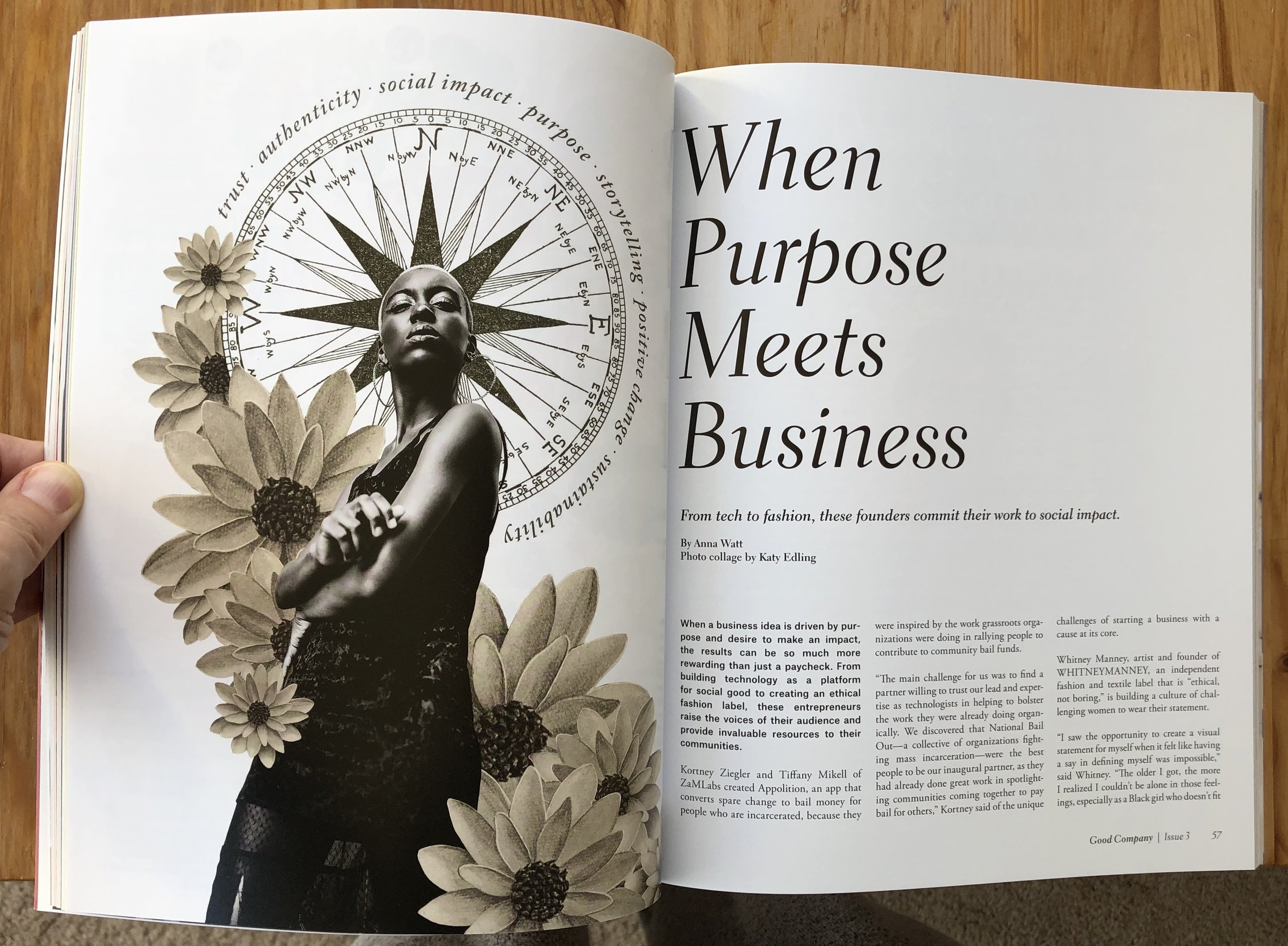 Good Company Magazine The Money Issue