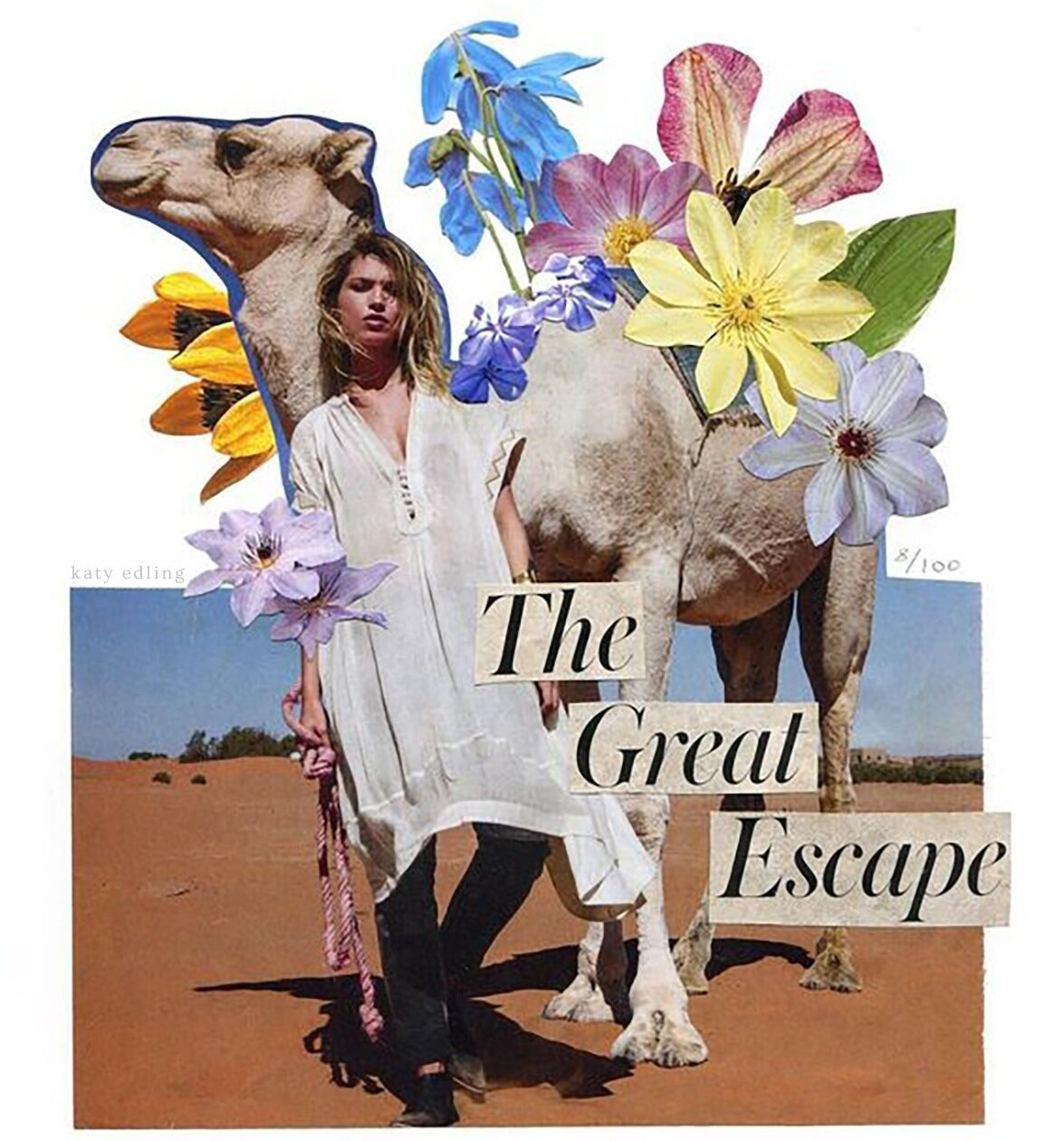 The+Great+Escape+Flower+Collage+by+Katy+Edling