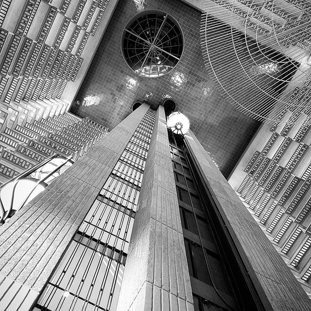 Apparently my photography is at its best around 2 a.m. (Hyatt Atrium in Midtown).