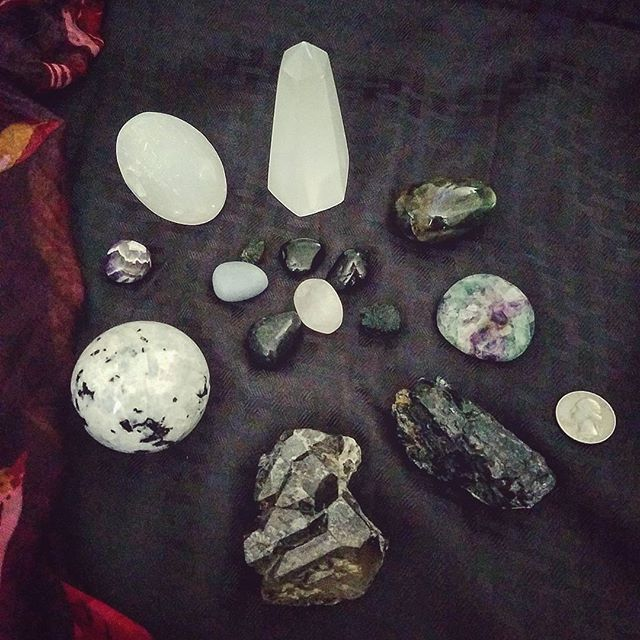 Different stones are used for different metaphysical purposes. Their shape and color have a lot to do with the purpose they serve.