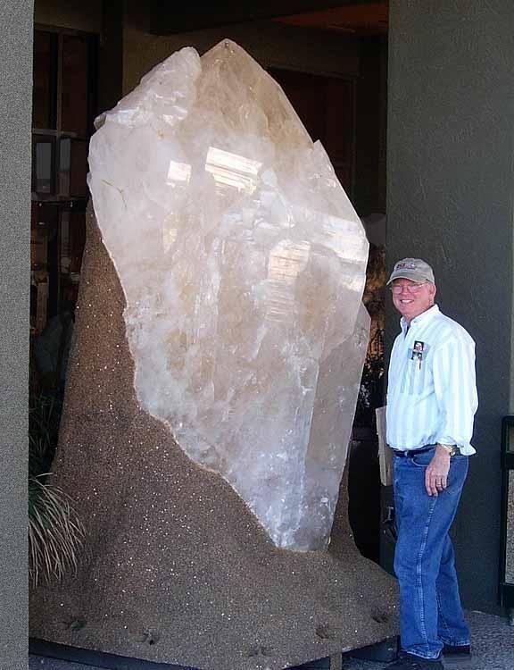 Giant elestial quartz