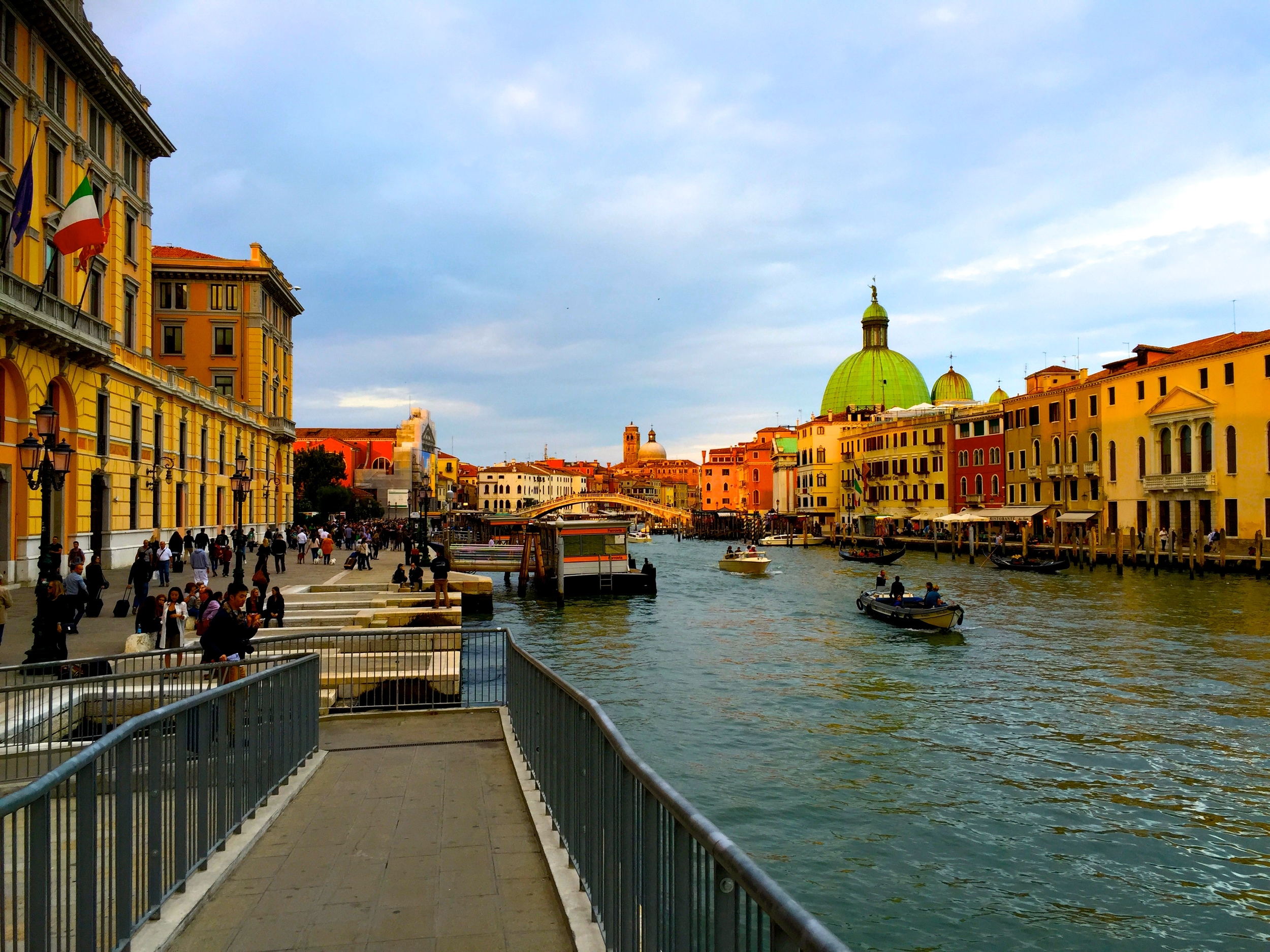 In Venice, you pretty much have to accept the fact that you will be getting to your destination by boat or foot