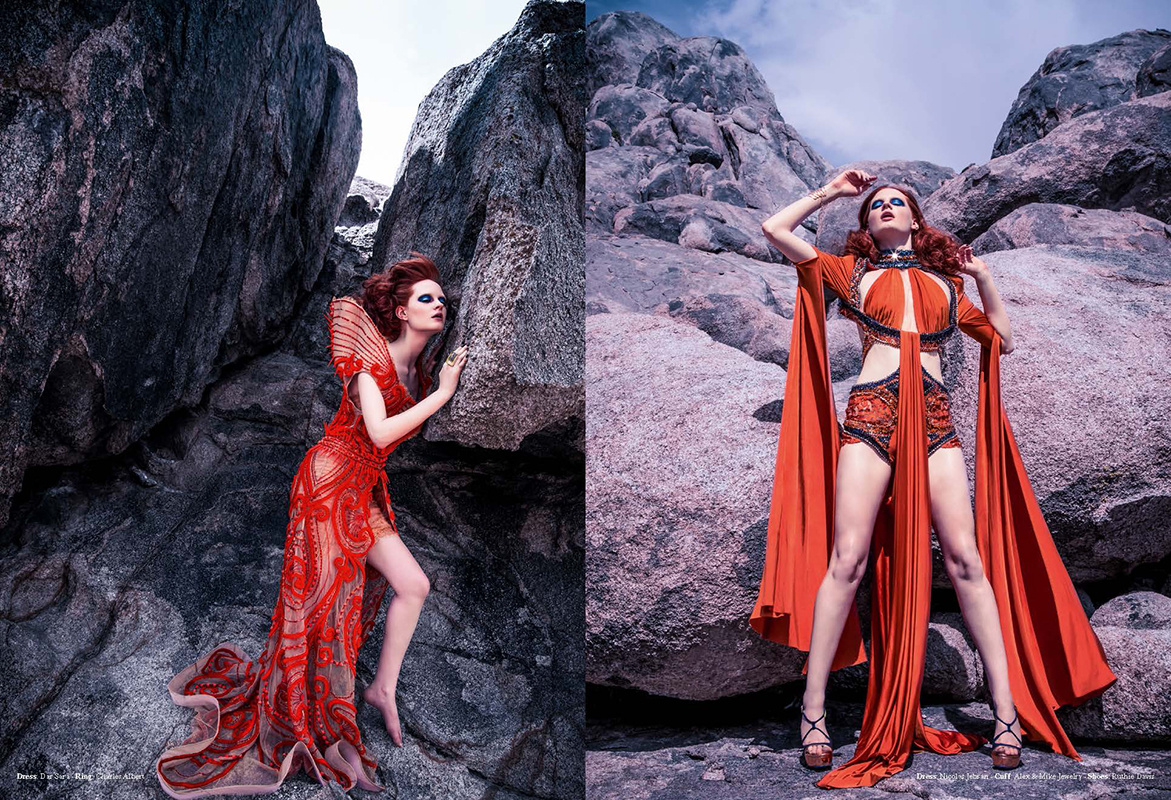 """""""Alabama Hills Couture"""" Styled by Apuje Kalu"""