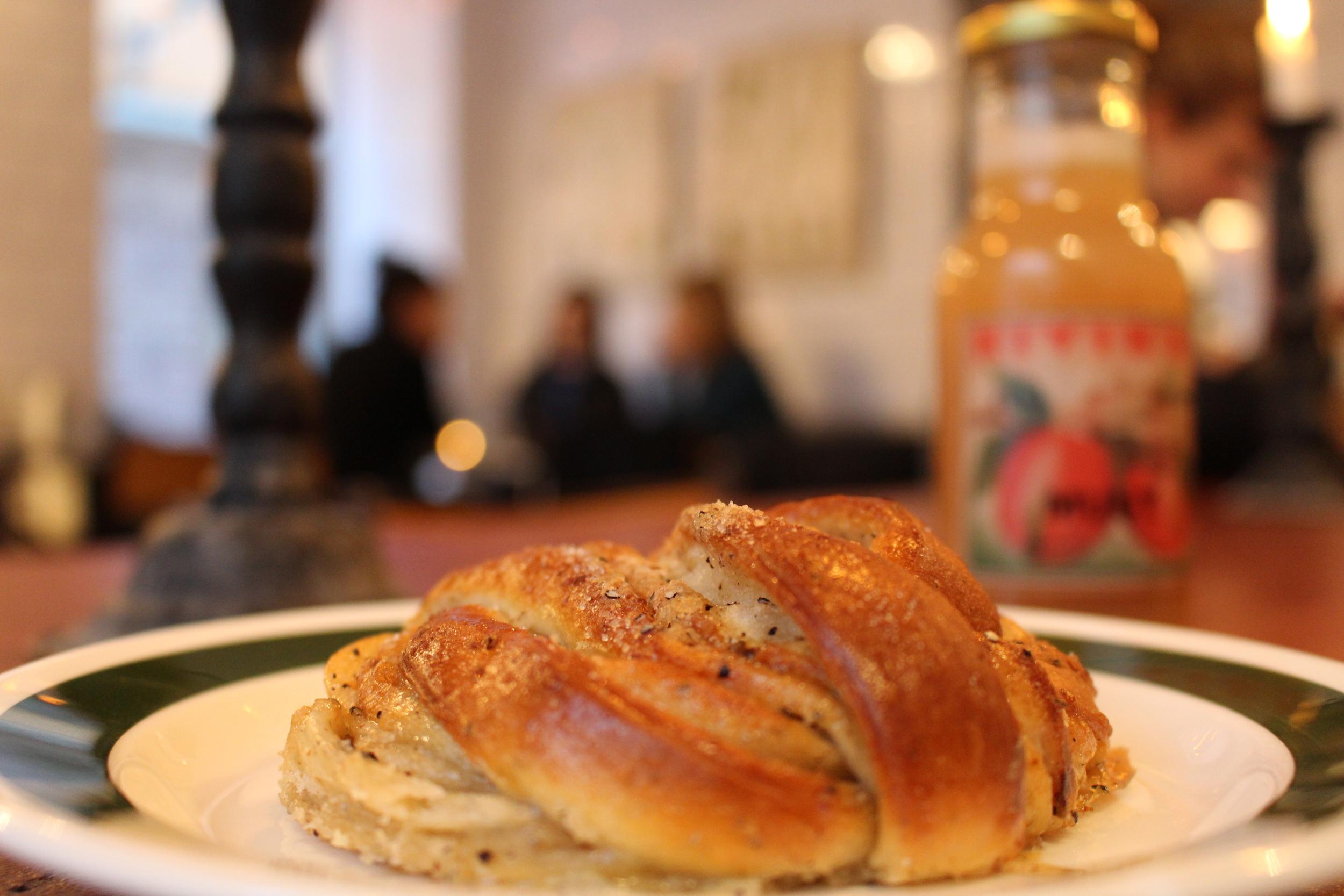 Cardamom Rolls, a Swedish pastry