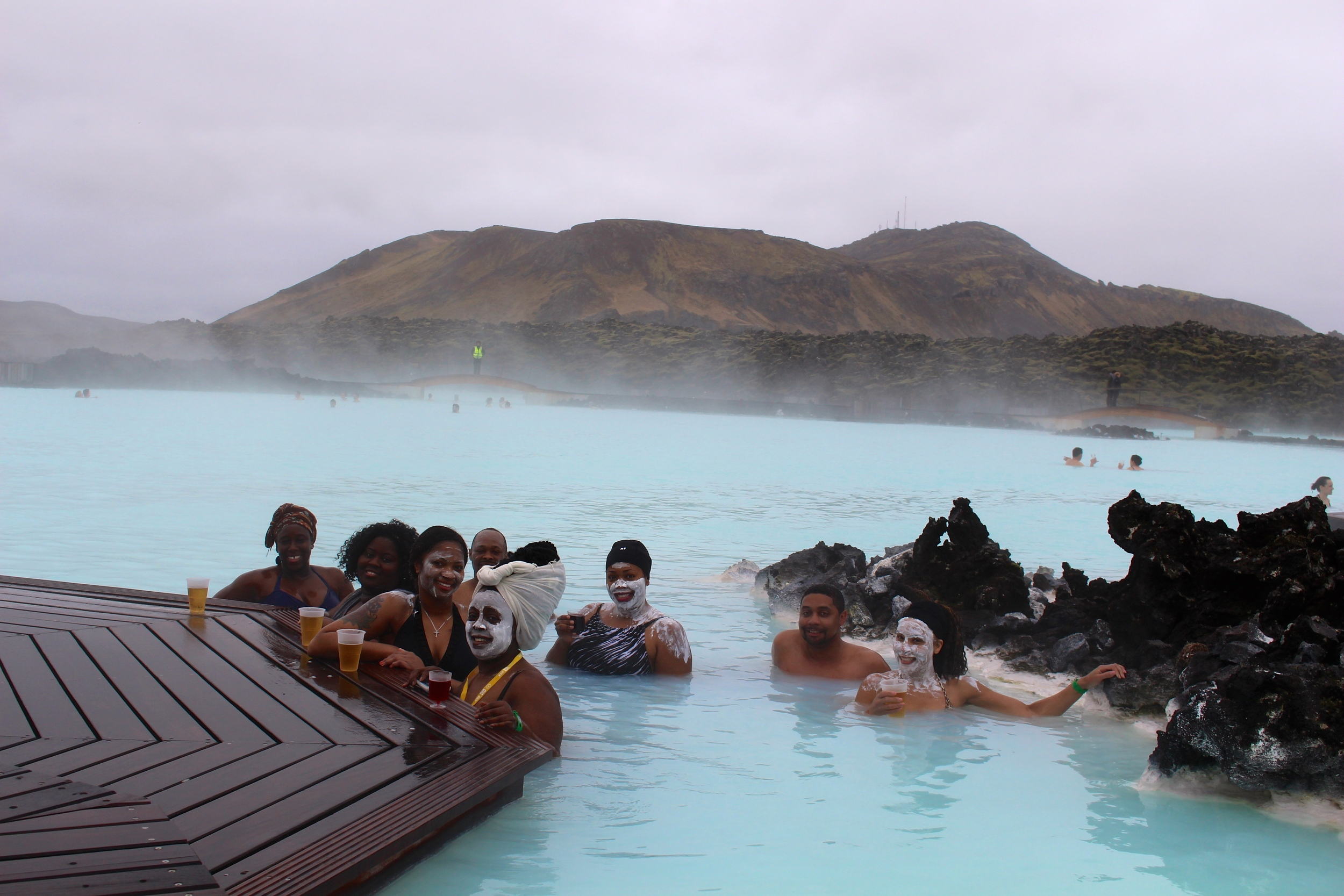 The #IcelandBlackout takeover of the Blue Lagoon Geothermal Spa
