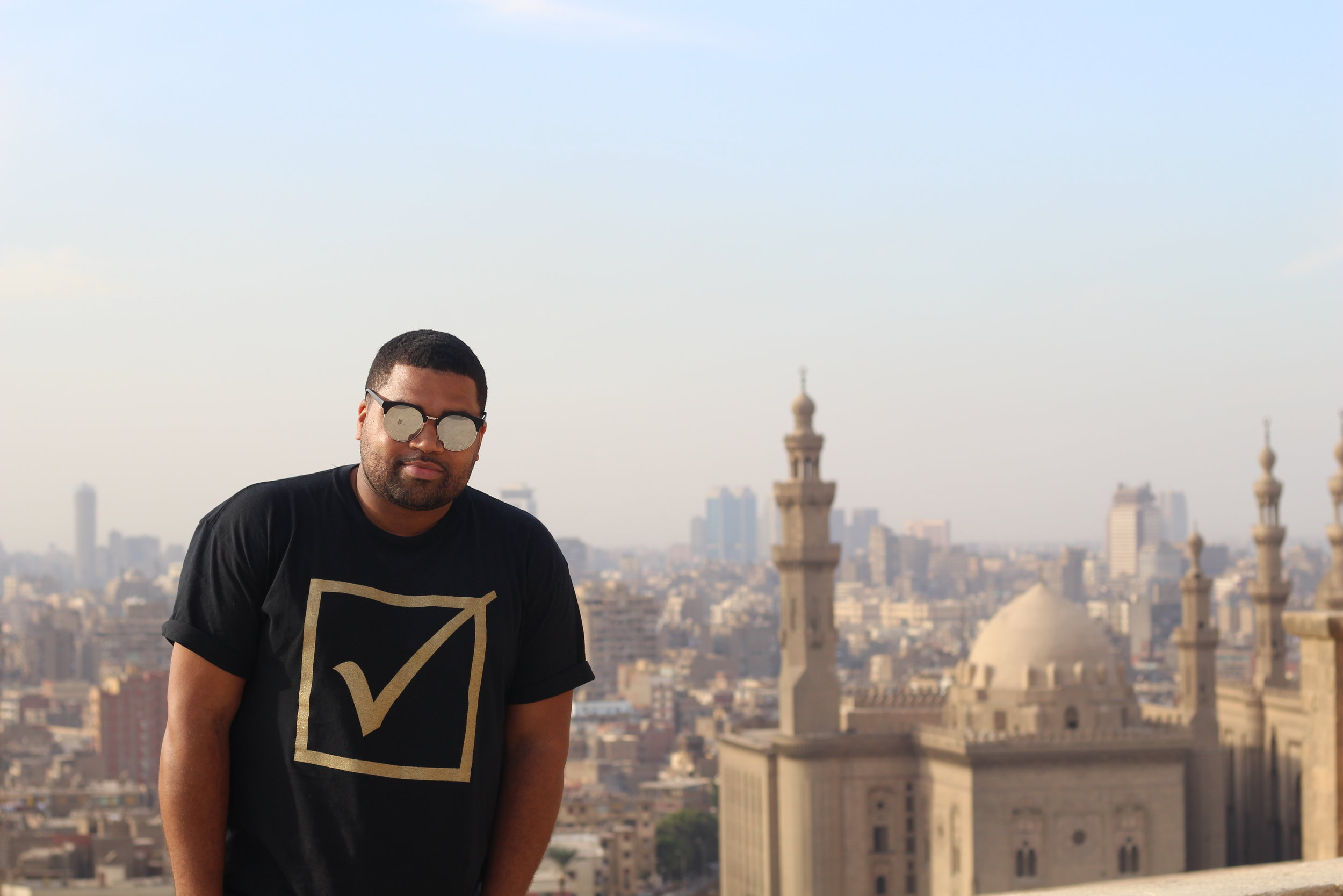 The view of Cairo from the top of the Citadel is awesome.