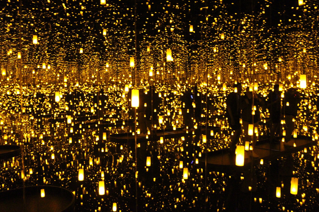 Infinity Mirrored Room—Aftermath of Obliteration of Eternity