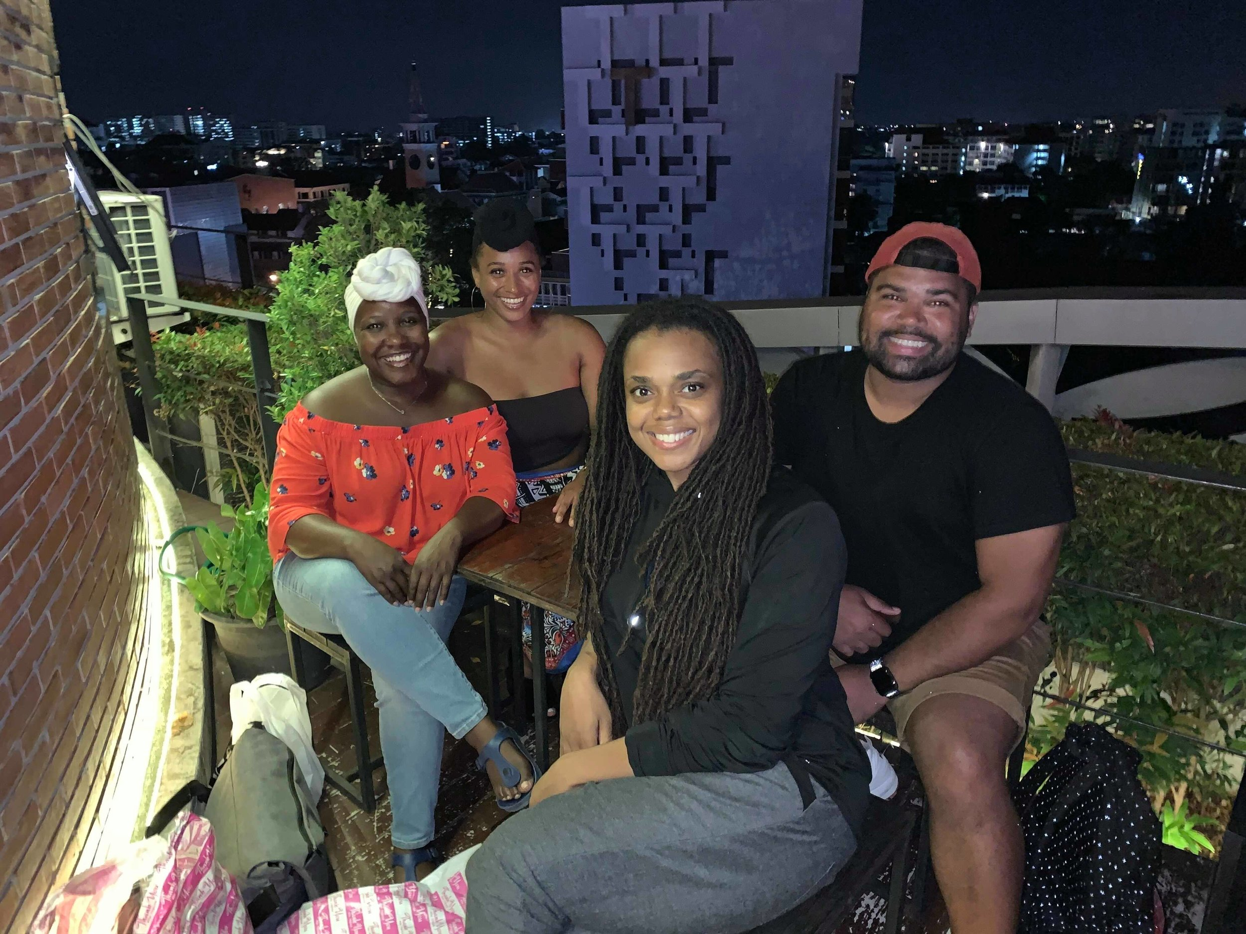 Met with Nubia and Frantces from Chronicles Abroad for drinks in Chiang Mai