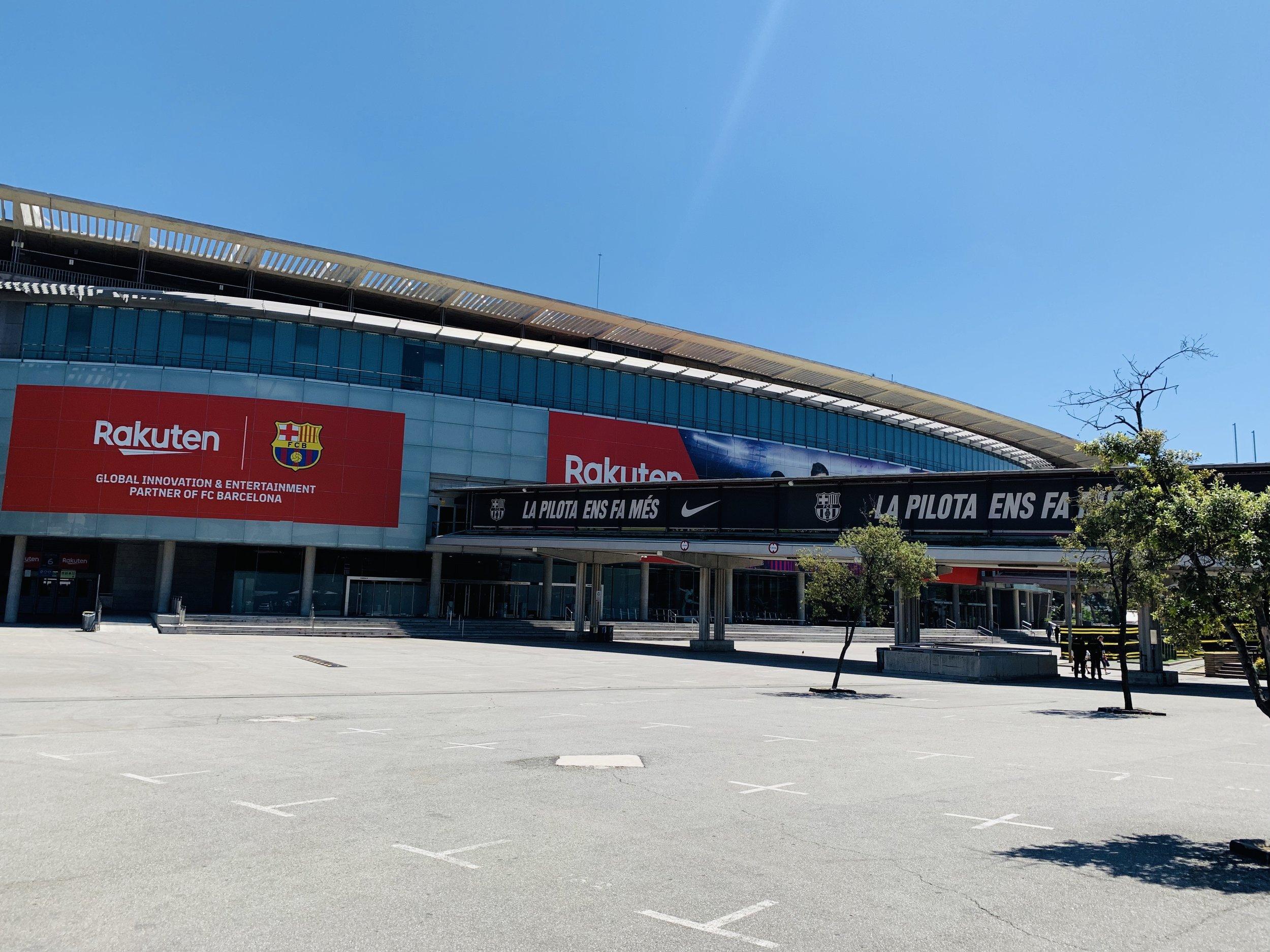 Camp Nou Stadium in Barcelona