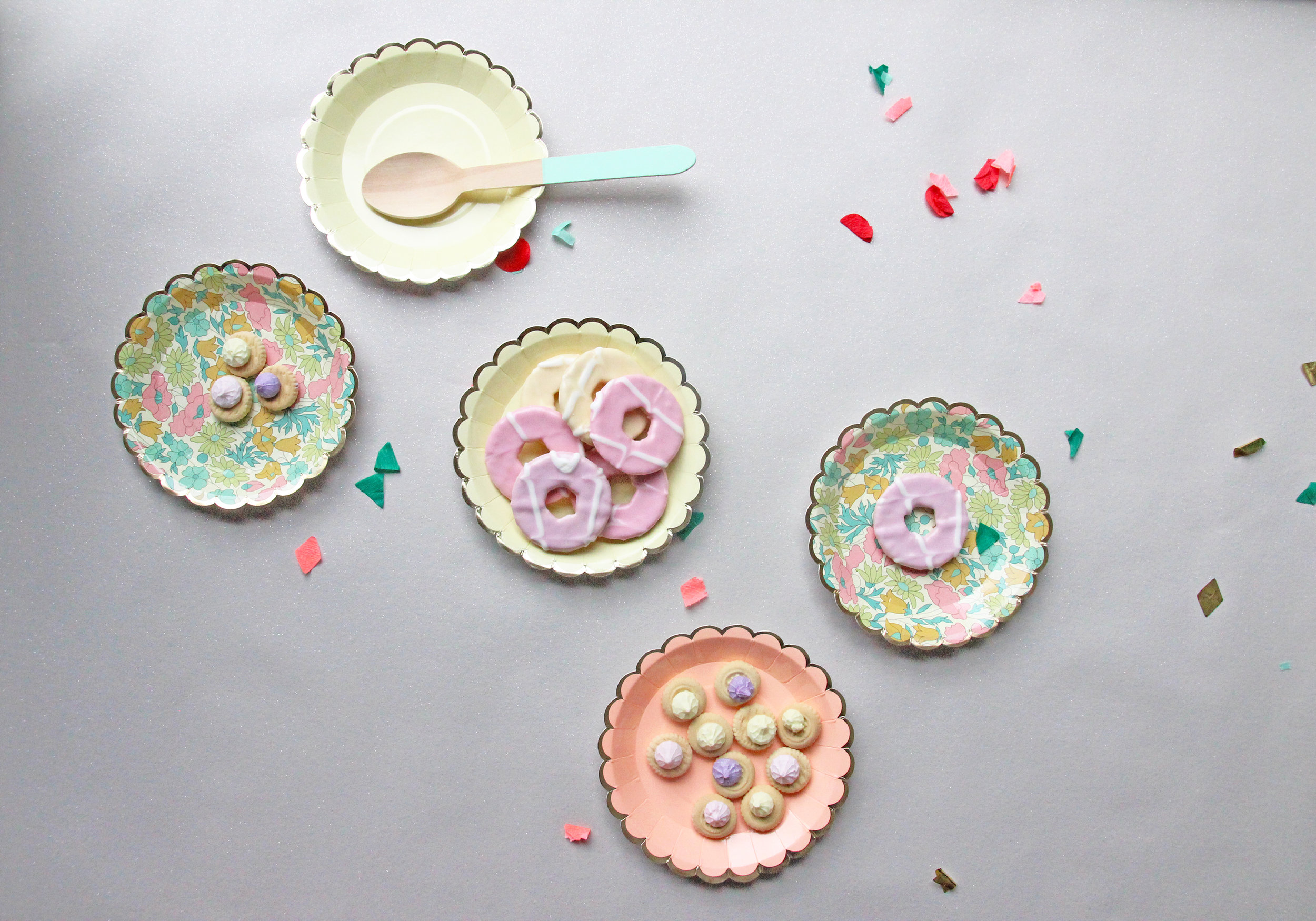 Spring party styling with Liberty print party ware