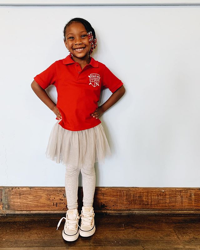 Our students wear uniforms because it's a visible way to show that we are all on the same team, that #WeAreCrew. We also love when their personalities and #creativity shine through ✨ Happy Friday!