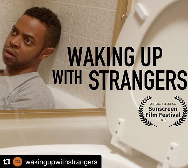 Hey InstaFam, in case you don't follow me on FB, I created a fun, easy web series about millennial hookup culture based on true stories called @wakingupwithstrangers! The first episode I star in is out today!  Check it out my clicking the link in my Bio. #HappyPride #SoundOn  P.S. this legit happened to me 😝😱😰