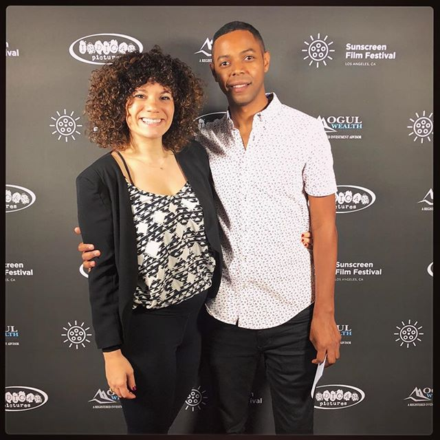 Such a blast screening @wakingupwithstrangers at the @ssff_west this past weekend! It's always humbling and inspiring when a room of strangers laughs at your creation, especially when you're there with your producer-in-crime @kimvasilakis! Big thanks to Robert, Blair and everyone else involved with the SSFF West! Cheers! #BlackBoyJoy #WomenInFilm . . . . . Rise and shine... and smell the regret . . . . . #WakingUpWithStrangers #blackboymagic #antoineperry #indiefilm #webseries #filmfestival #ssffwest #ssffwest2018 #riseandshine #andsmelltheregret #kimvasilakis #comedy #indiewebseries
