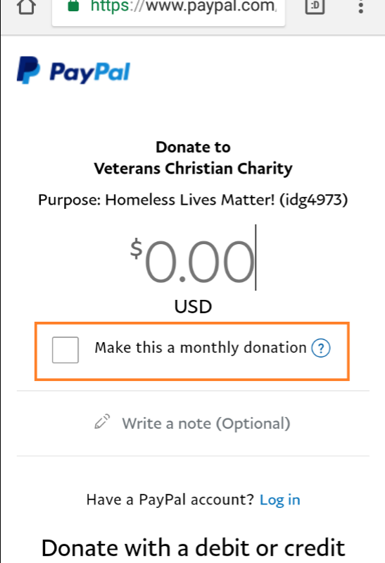 When you visit certain nonprofits' donation pages on PayPal, you now see a recurring donation option that never used to be there. Does anyone know when PayPal rolled this out?
