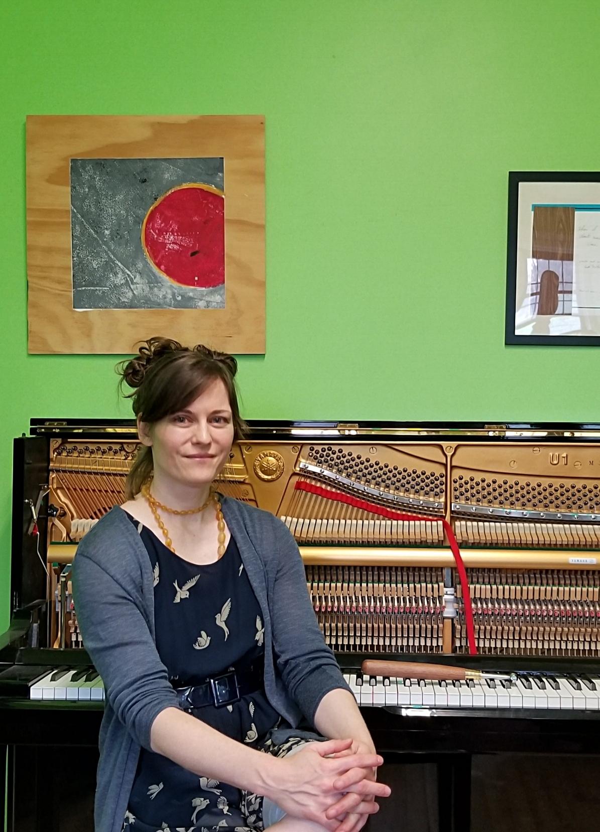 Tracy Cowart Piano Tuner at Brooklyn Music School