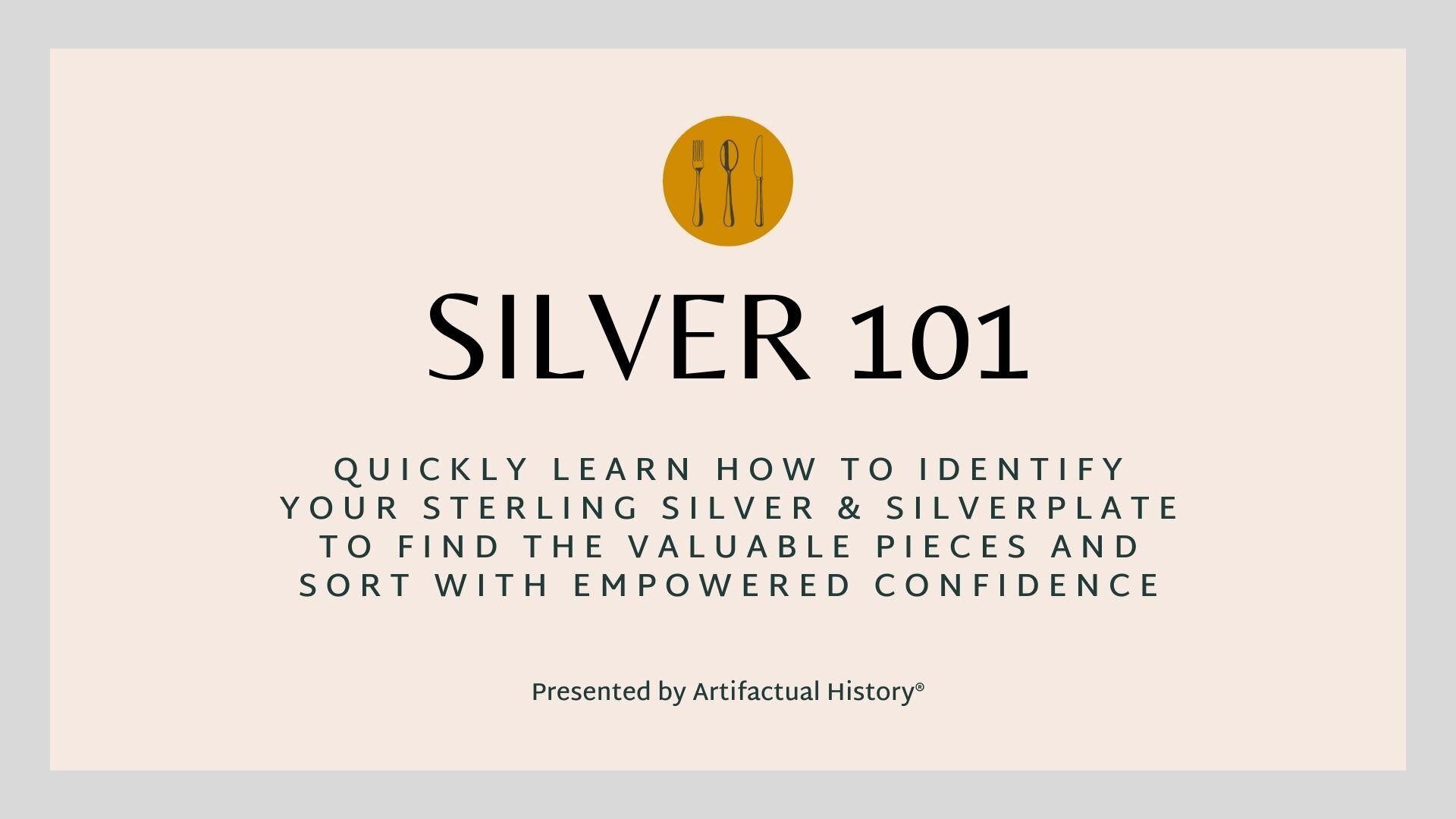 Silver 101
