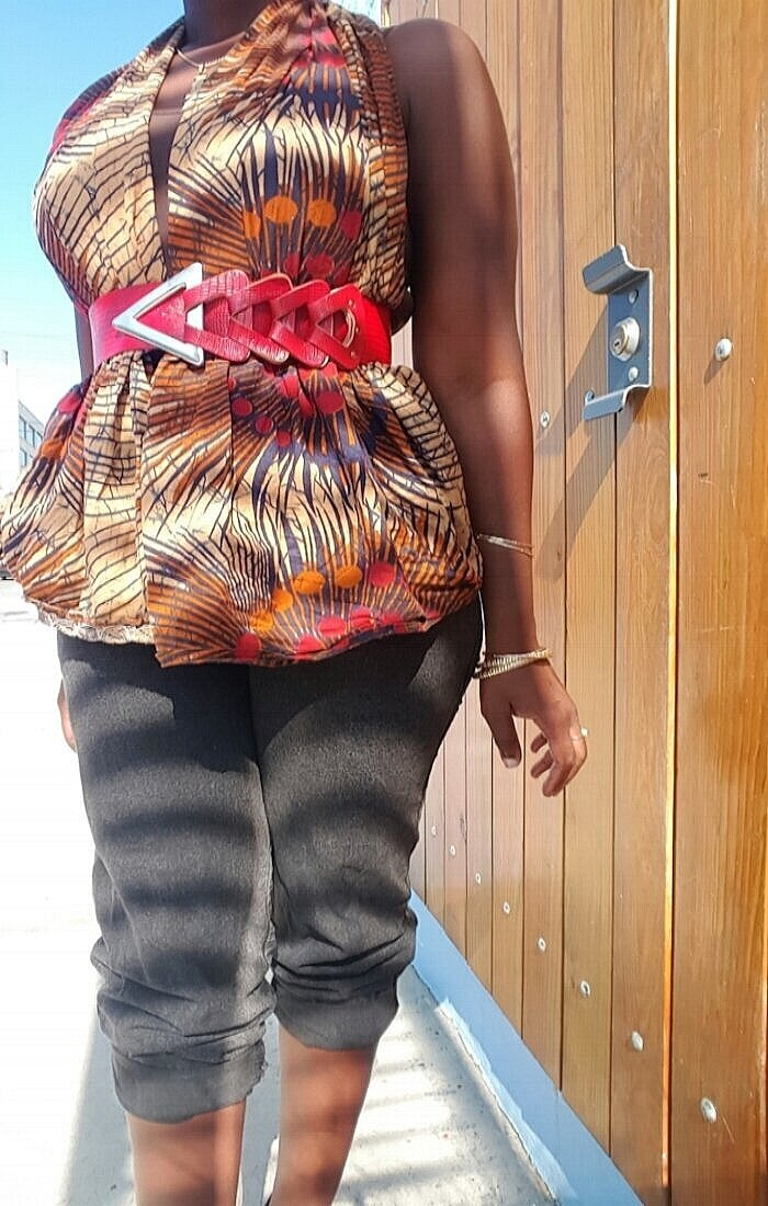Queen Adwoa's Closet African Body Wrap Tutorial