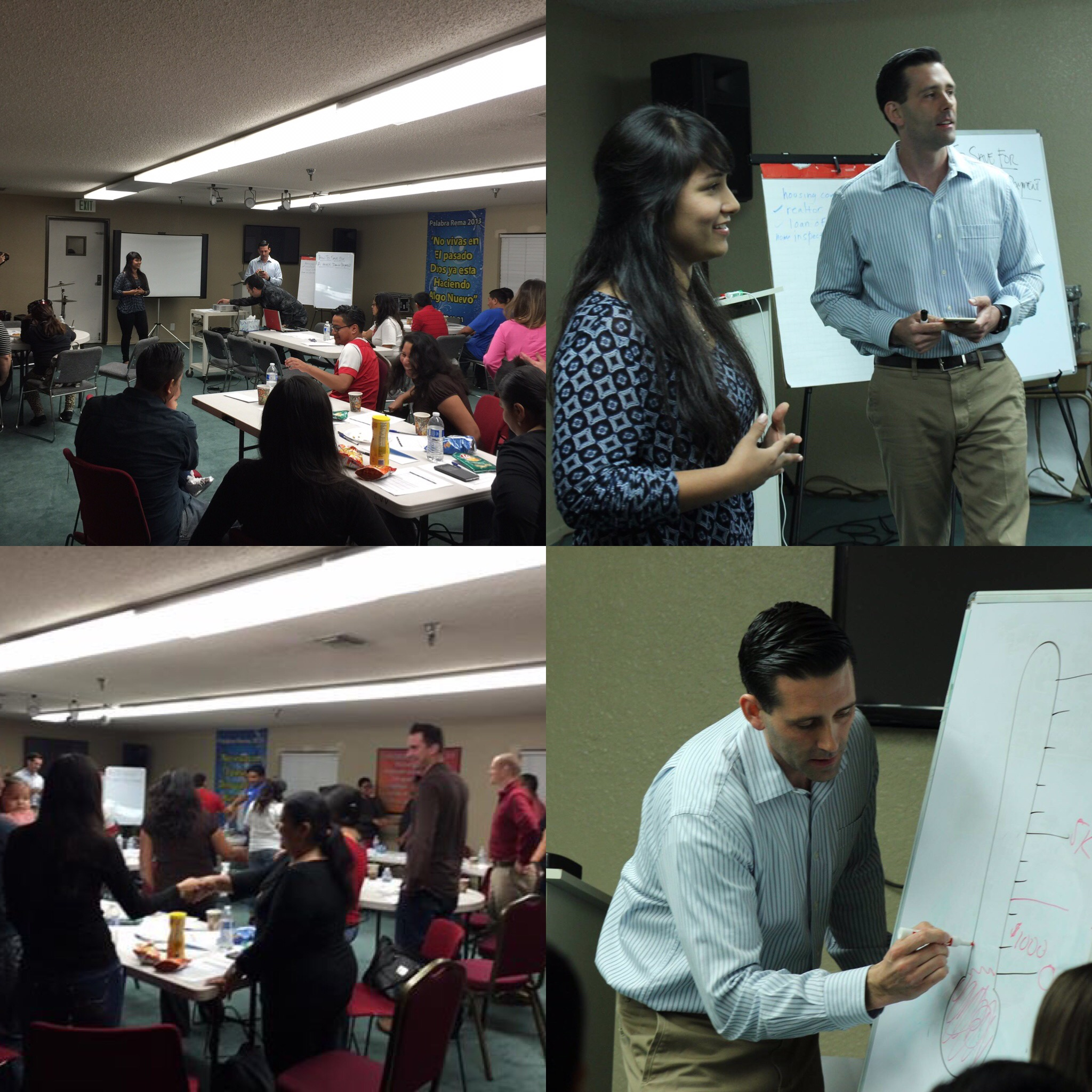 """Had a great time Working with Instituto de Avance Latino. The topic was """"How to Save for a Mortgage Down Payment."""""""