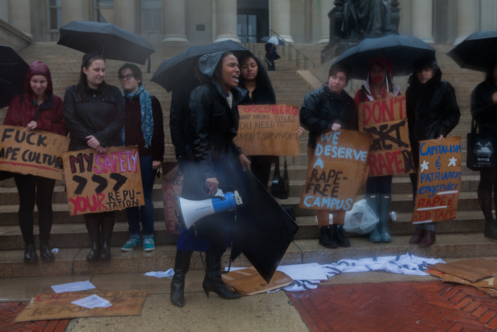 Demand a SAAFE Campus rally to expose the intersection between institutionalized discrimination and sexual and dating violence