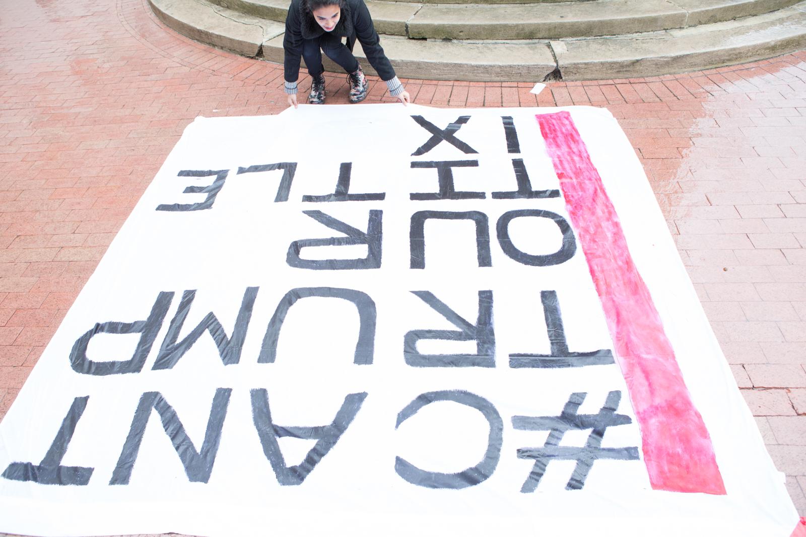 #CantTrumpOurTitleIX banner