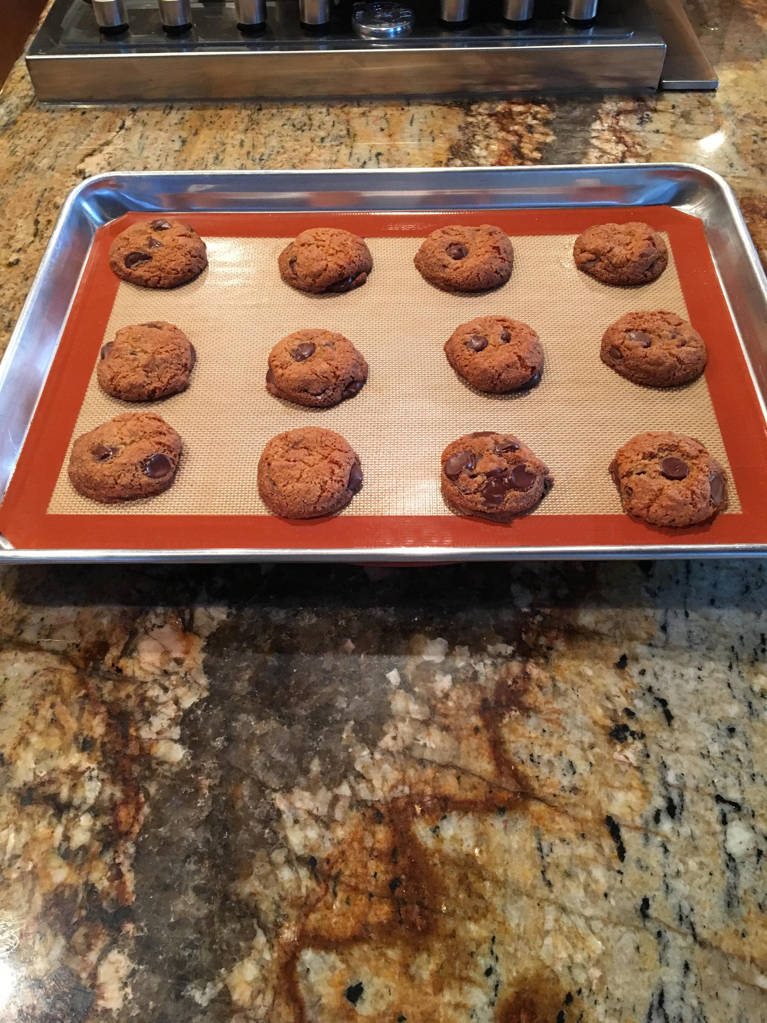 Cookie's baked on sheet.JPG
