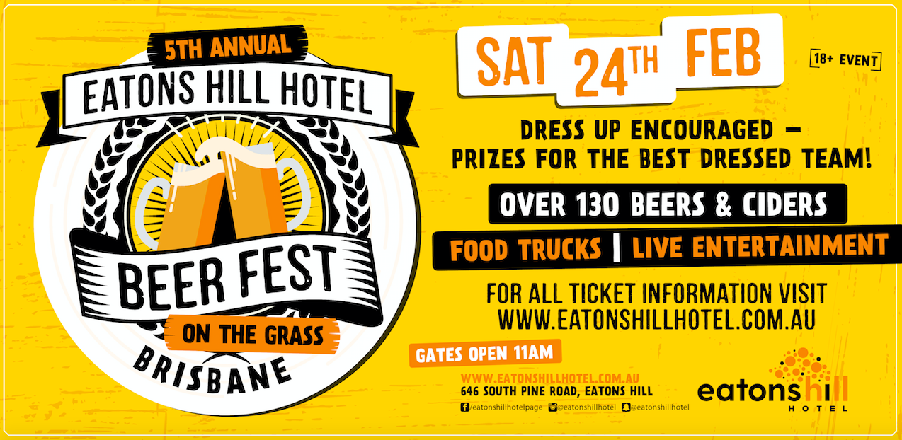Eatons Hill Hotel - 5th Annual Beer Fest