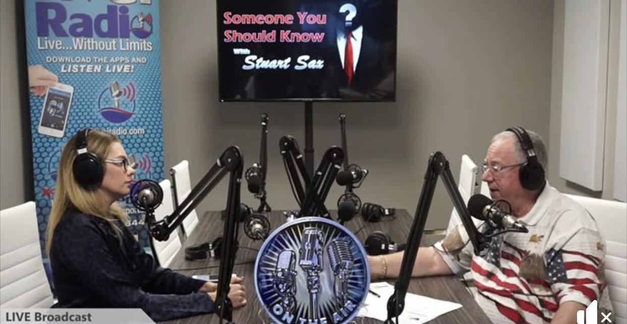 KVGI Radio interview: Someone You Should Know with radio host Stuart Sax