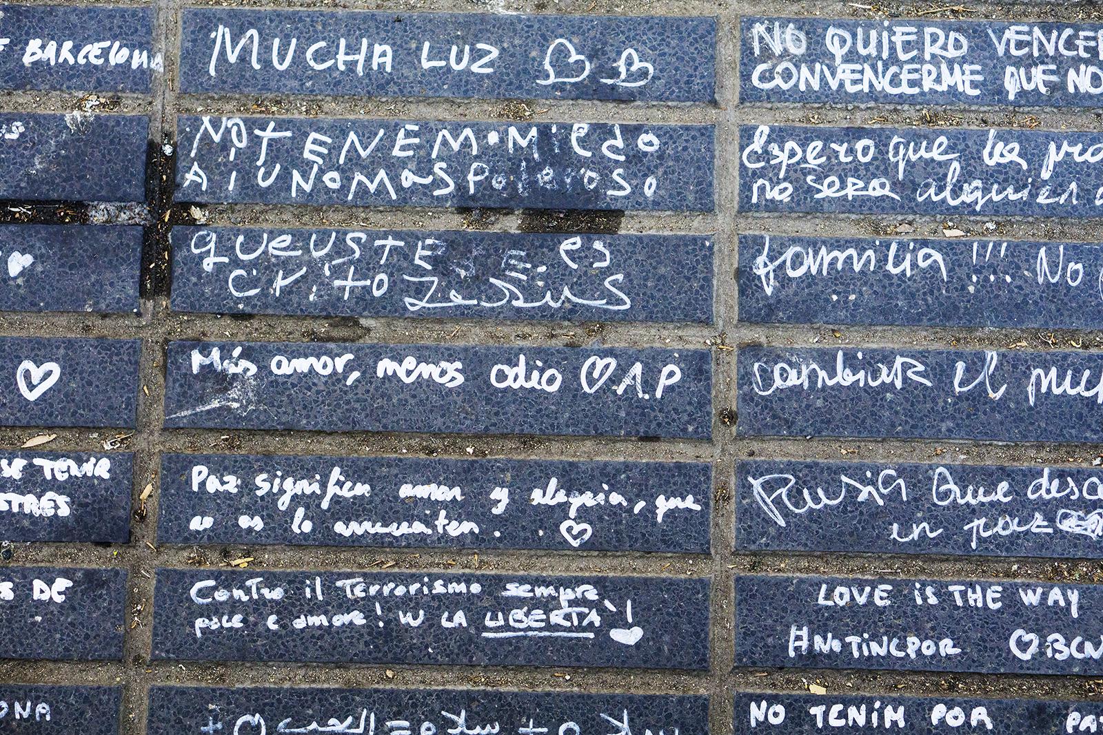 Las Ramblas, Barcelona 08.2017