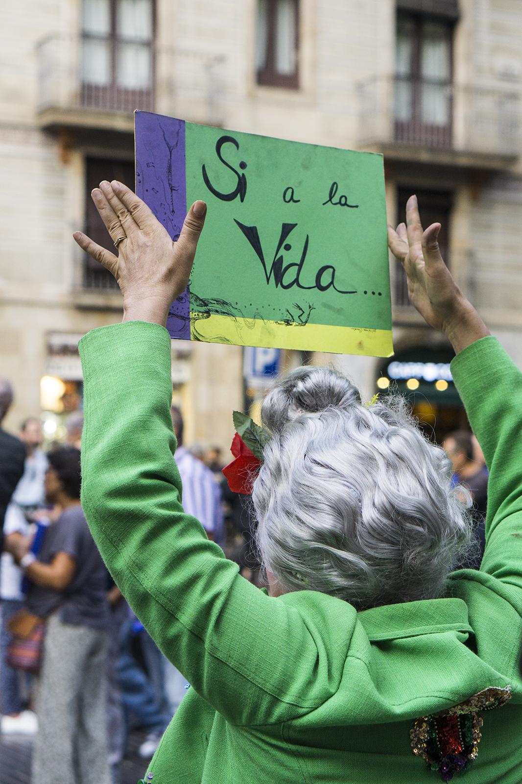 26.08.2017 Barcelona peace manifestation- No Tinc Por