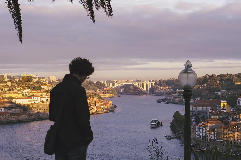 The view over Porto