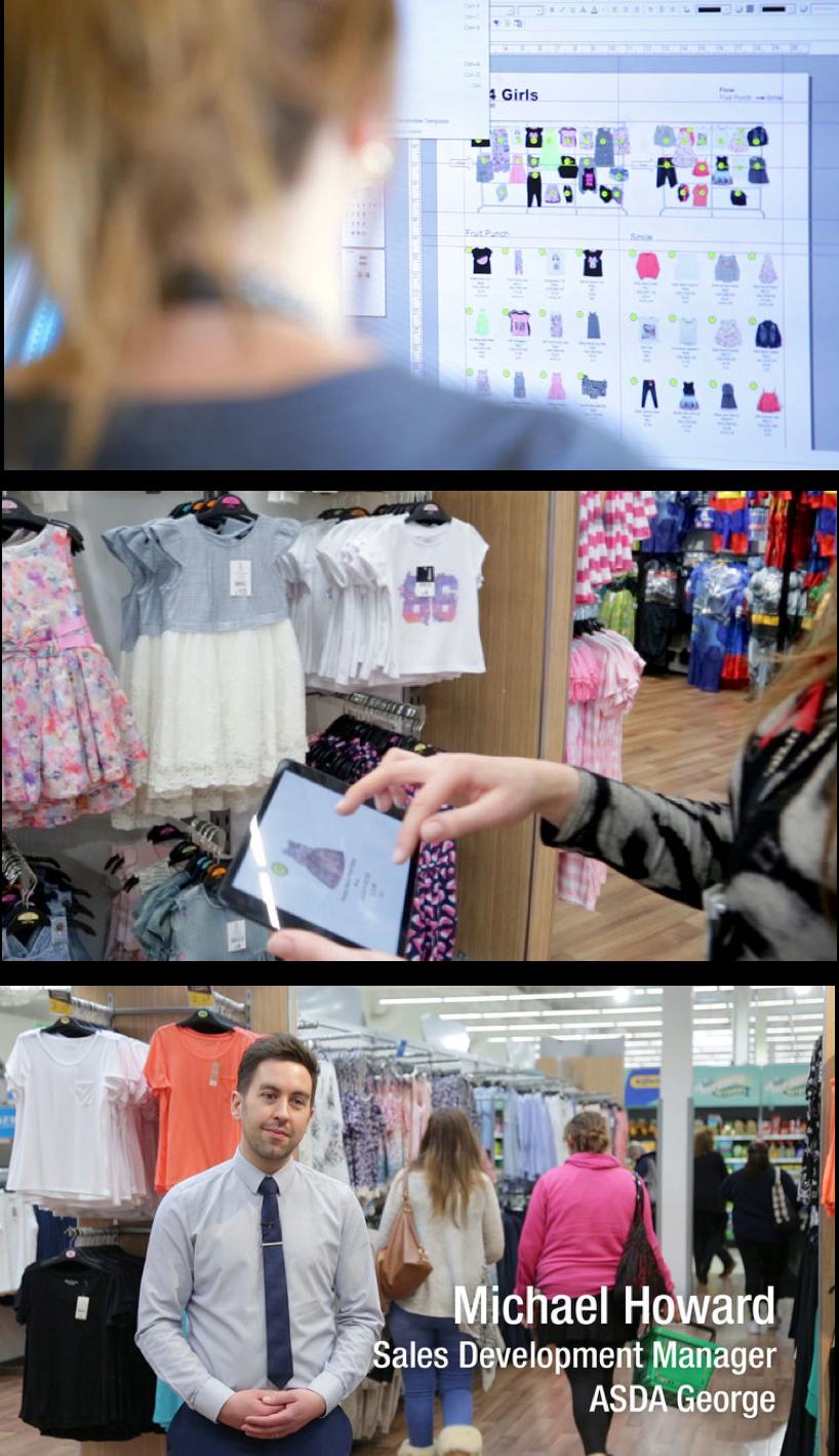 Asda George, Fashion Retailer, Visual Merchandising Software