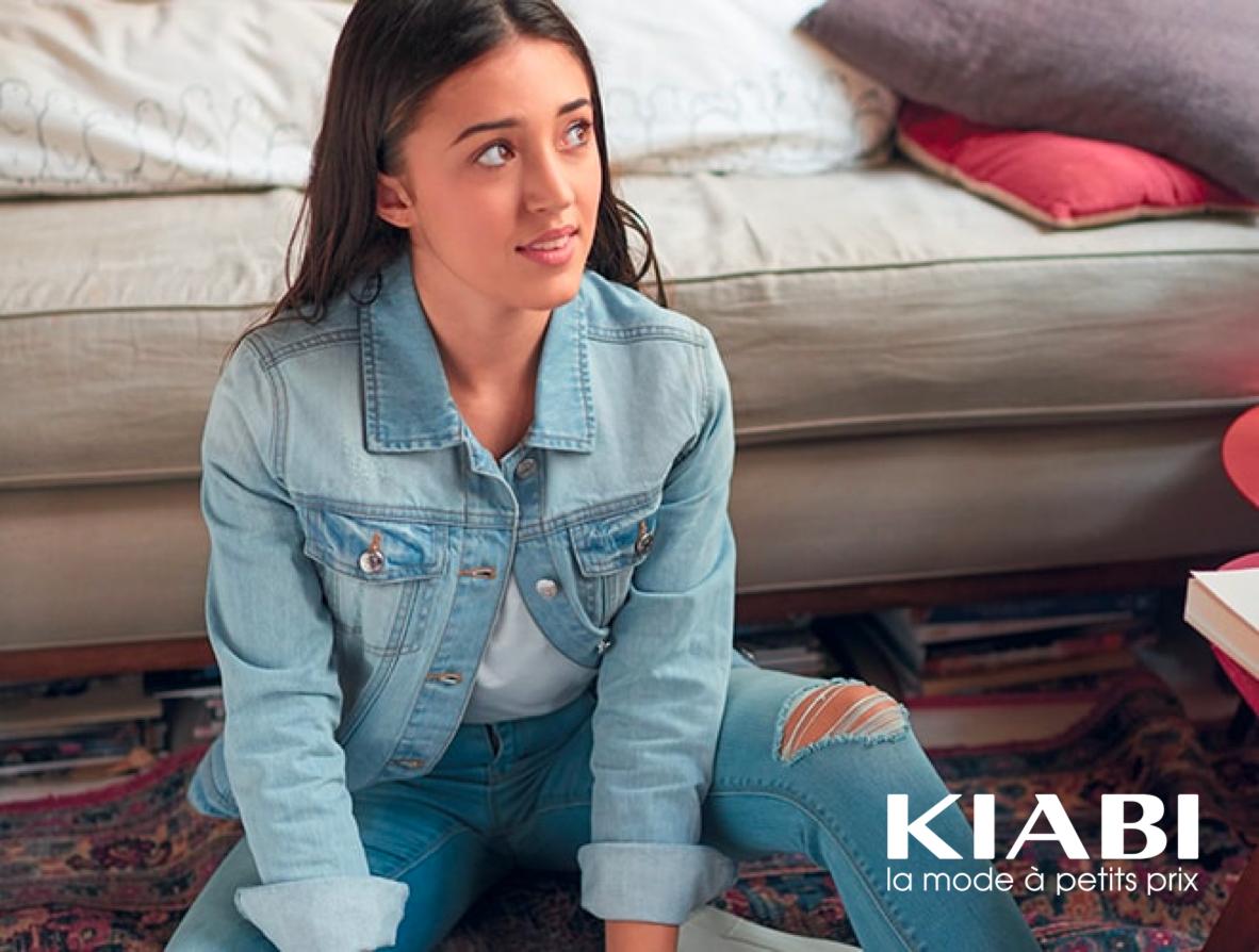 Merchandising visuel, Kiabi, de la mode