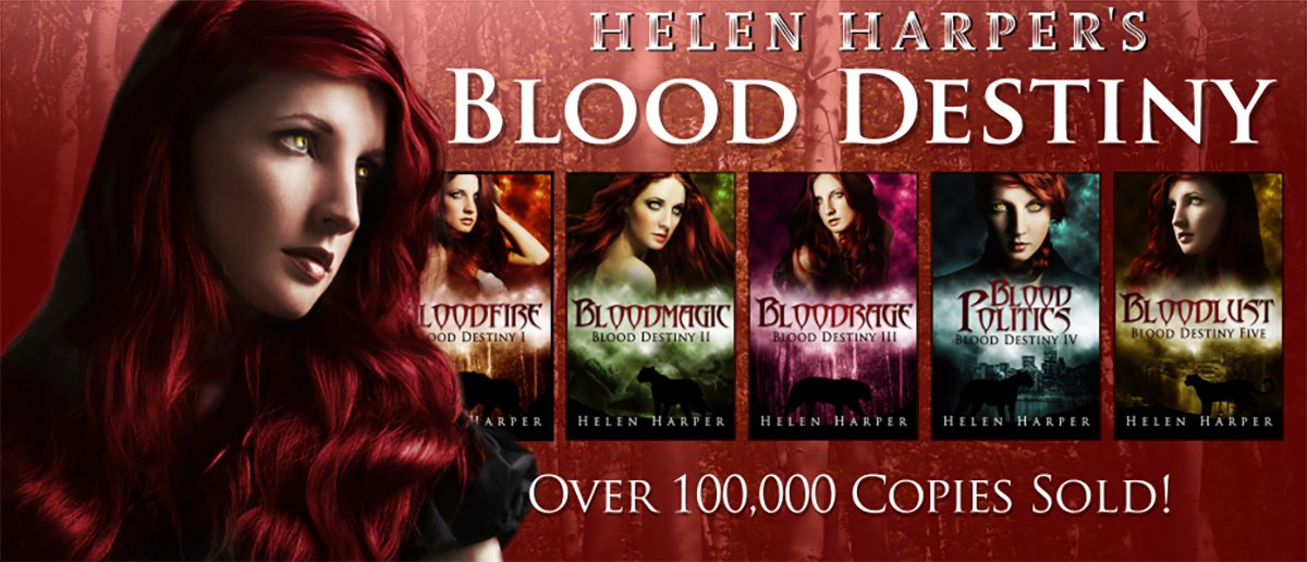 Helen Harper Blood Destiny